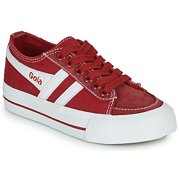 Scarpe Unisex bambino Sneakers basse Gola QUOTA II Rosso / Bianco