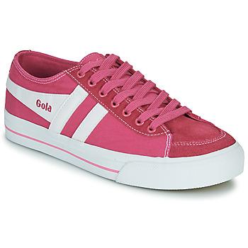 Scarpe Donna Sneakers basse Gola QUOTA II Rosa / Bianco
