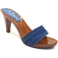 Scarpe Donna Ciabatte Kiara Shoes K6101 Denim