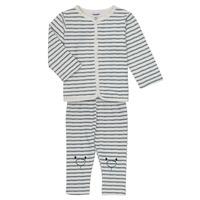 Abbigliamento Bambino Completo Noukie's KAIS Bianco