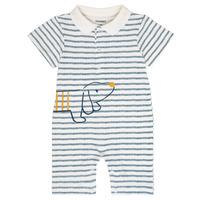 Abbigliamento Bambino Tuta jumpsuit / Salopette Noukie's IMRAN Bianco