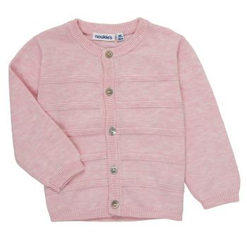 Abbigliamento Bambina Gilet / Cardigan Noukie's NOAM Rosa