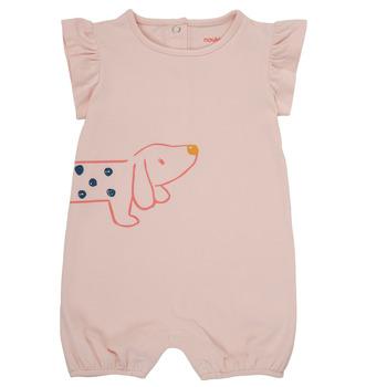 Abbigliamento Bambina Tuta jumpsuit / Salopette Noukie's ISAAC Rosa