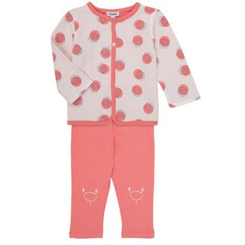 Abbigliamento Bambina Completo Noukie's OSCAR Rosa