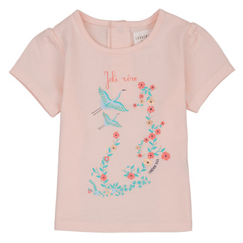 Abbigliamento Bambina T-shirt maniche corte Carrément Beau NOLAN Rosa