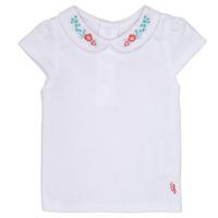 Abbigliamento Bambina T-shirt maniche corte Carrément Beau MAYVE Bianco