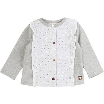 Abbigliamento Bambina Gilet / Cardigan Carrément Beau ISA Grigio