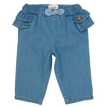 Abbigliamento Bambina Jeans slim Carrément Beau ISAQ Blu