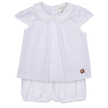 Abbigliamento Bambina Completo Carrément Beau LORELLI Bianco
