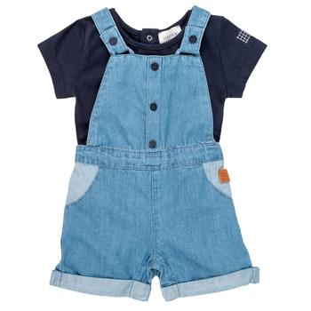 Abbigliamento Bambino Completo Carrément Beau OTIS Blu