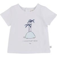 Abbigliamento Bambino T-shirt maniche corte Carrément Beau MARTINEZ Bianco