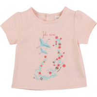 Abbigliamento Bambina T-shirt maniche corte Carrément Beau JUSTINE Rosa