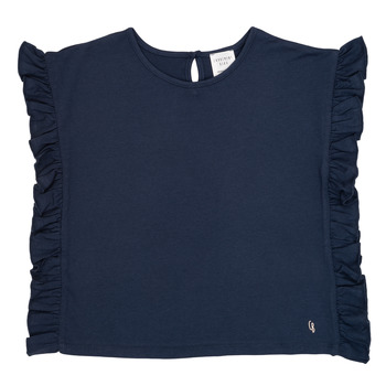 Abbigliamento Bambina T-shirt maniche corte Carrément Beau KAMILLIA Blu
