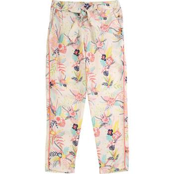 Abbigliamento Bambina Pantaloni 5 tasche Carrément Beau WILLIAM Blu