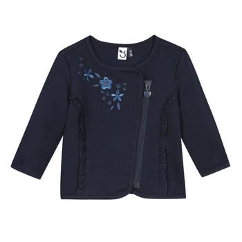Abbigliamento Bambina Gilet / Cardigan 3 Pommes TEVAI Blu