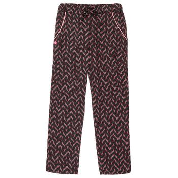 Abbigliamento Bambina Pantaloni 5 tasche 3 Pommes ALICE Nero