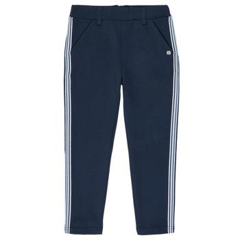 Abbigliamento Bambina Pantaloni 5 tasche 3 Pommes SYLVANA Blu