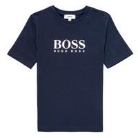 Abbigliamento Bambino T-shirt maniche corte BOSS MARIA Blu