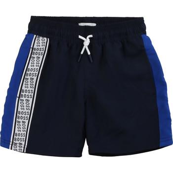 Abbigliamento Bambino Shorts / Bermuda BOSS MOZEL Blu