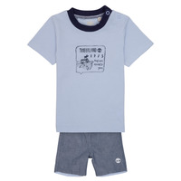Abbigliamento Bambino Completo Timberland AXEL Blu