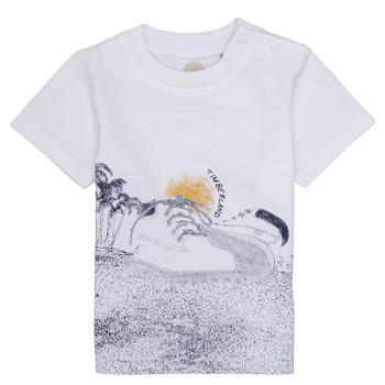 Abbigliamento Bambino T-shirt maniche corte Timberland ANTONIN Bianco