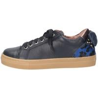 Scarpe Bambina Sneakers basse Romagnoli 4671-103 Sneakers Bambina Blu Blu
