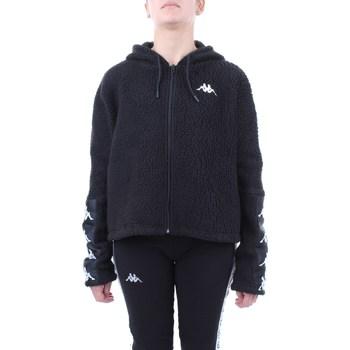 Abbigliamento Donna Felpe Kappa 304nq70 Nero