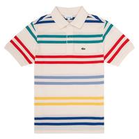 Abbigliamento Bambino Polo maniche corte Lacoste HENRI Multicolore