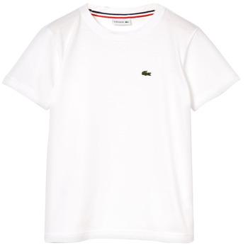 Abbigliamento Bambino T-shirt maniche corte Lacoste NAE Bianco