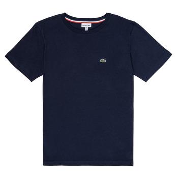 Abbigliamento Bambino T-shirt maniche corte Lacoste JOSEPHE Marine