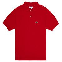 Abbigliamento Bambino Polo maniche corte Lacoste ANAICK Rosso
