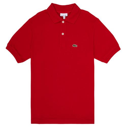 Abbigliamento Bambino Polo maniche corte Lacoste LOLLA Rosso