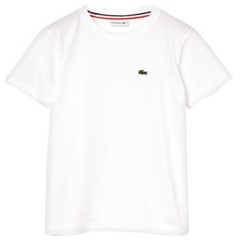 Abbigliamento Bambino T-shirt maniche corte Lacoste ALIZE Bianco