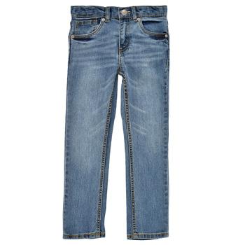 Abbigliamento Bambino Jeans skynny Levi's 511 SKINNY FIT Blu / Medium