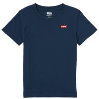 Abbigliamento Bambino T-shirt maniche corte Levi's BATWING CHEST HIT Marine