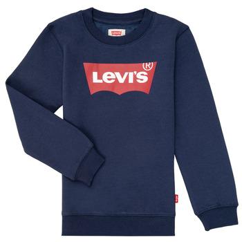 Abbigliamento Bambino Felpe Levi's BATWING CREWNECK Marine