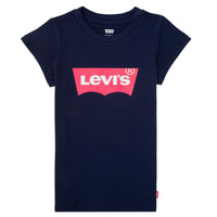 Abbigliamento Bambina T-shirt maniche corte Levi's BATWING TEE Marine