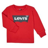 Abbigliamento Bambino T-shirts a maniche lunghe Levi's BATWING TEE LS Rosso