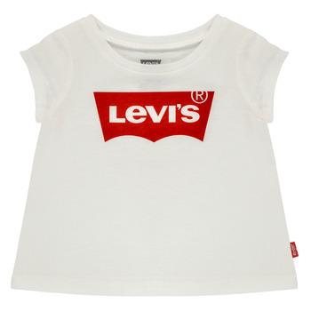 Abbigliamento Bambina T-shirt maniche corte Levi's BATWING TEE Bianco