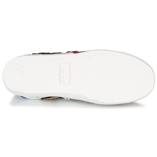 Karl Lagerfeld Skool Multi Patch Lo Bianco / Multicolore - Consegna Gratuita- Scarpe Sneakers Basse Donna 154