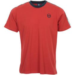 Abbigliamento Uomo T-shirt maniche corte Sergio Tacchini Dahoma T-Shirt Rosso