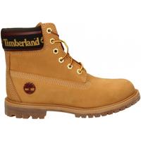 Scarpe Donna Stivaletti Timberland 6in Premium WP Boot L/F- W wheat-giallo