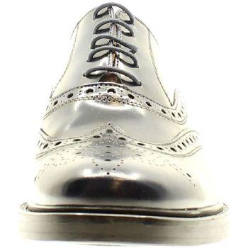 Scarpe Uomo Derby Bryan Shoes BLU ABRASIVATO Multicolore