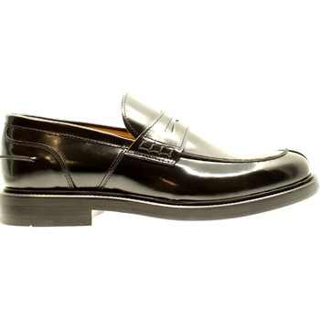 Scarpe Uomo Mocassini Bryan Shoes NERO ABRASIVATO Multicolore