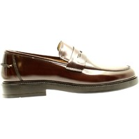 Scarpe Uomo Mocassini Bryan Shoes TESTA DI MORO ABRASIVATO Multicolore