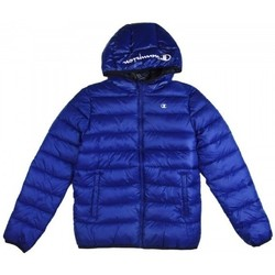 Abbigliamento Bambino Piumini Champion Hooded Jacket  Bambino Blu