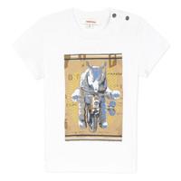 Abbigliamento Bambino T-shirt maniche corte Catimini LARIBI Bianco