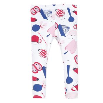 Abbigliamento Bambina Leggings Catimini LEONTINE Bianco