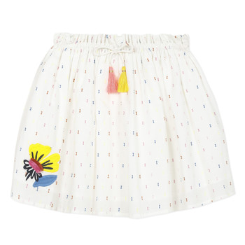 Abbigliamento Bambina Gonne Catimini ALINA Bianco