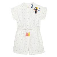 Abbigliamento Bambina Tuta jumpsuit / Salopette Catimini LUCIUS Bianco